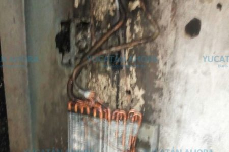 Se quema boutique en el norte de Mérida