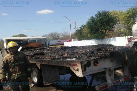 Lunes 'incendiario' en carreteras de Yucatán