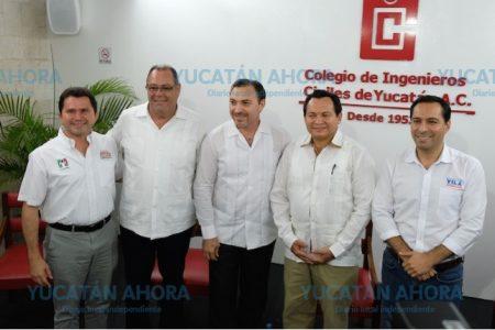 Tres candidatos avalan que Luis Saidén siga al frente de la SSP