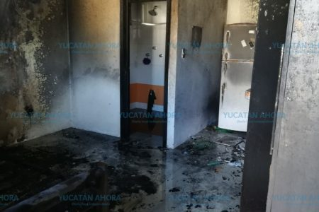 No le hizo caso a su abuela y se quemó su consultorio en la Bojórquez