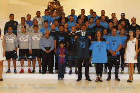 Telmex y el Barza se unen para impulsar el futbol como agente de cambio