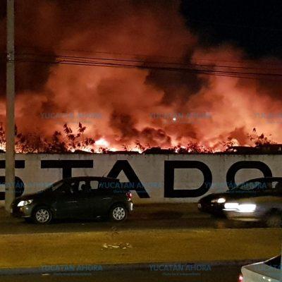 Se siniestraron 200 vehículos en el incendio del corralón