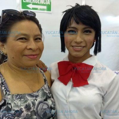 Se estrena como cosplayer en la Convención Tsunami Mérida Comic on