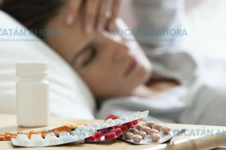Cada hora 83 yucatecos se enferman de gripe o males estomacales