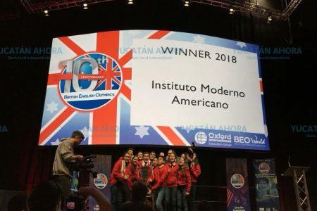 Alumnos del IMA ganan concurso internacional en Londres