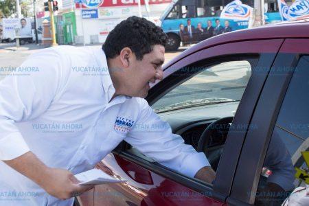 Quiero ser eficazmente útil a los ciudadanos: Víctor Merari
