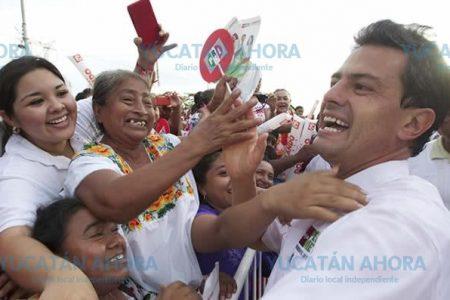 Peña Nieto llega a Mérida este miércoles