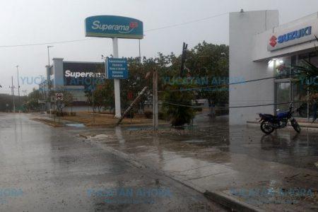 Agentes de la SSP liberan circulación en Prolongación Montejo