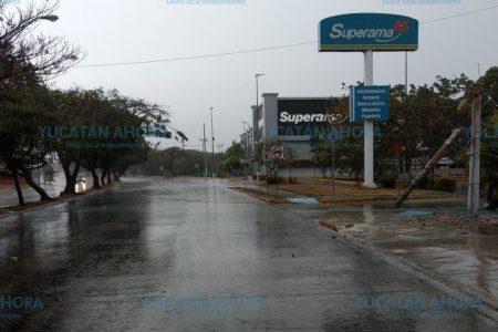 Efecto del frente frío 44: bloqueo en Prolongación Montejo por poste caído