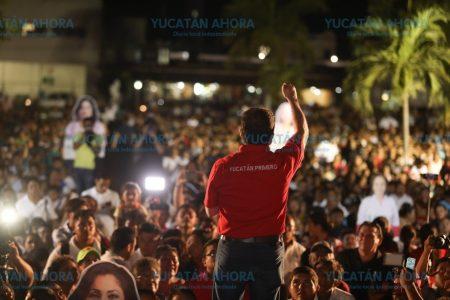 Más de 10 mil progreseños apoyan a Mauricio Sahuí