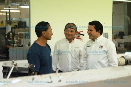 Mauricio Sahuí ofrece ser aliado para generar mejores empleos