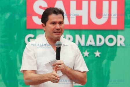Como gobernador, pero más como padre, quiero un Yucatán seguro: Sahuí