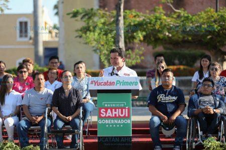 Mauricio Sahuí ofrece un gobierno con planeación realista