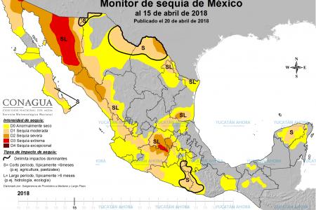Tras las lluvias, se extiende la sequía en la Península de Yucatán