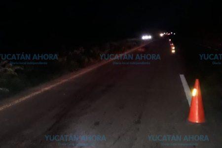 Brutal accidente en la Mérida-Cancún: lo dejan irreconocible