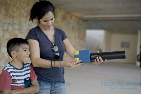 Niños del sur de Mérida, se acercan a la magia de la fotografía