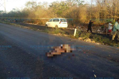 Mata por alcance a un ciclista, en el sur de Yucatán