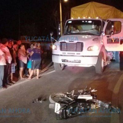 Dos mujeres mueren destrozadas por un tractocamión en el sur de Yucatán