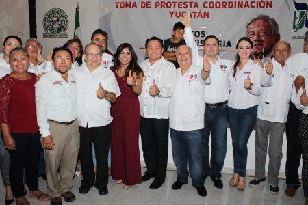 Maestros ofrecen que votarán por AMLO y por 'Huacho'