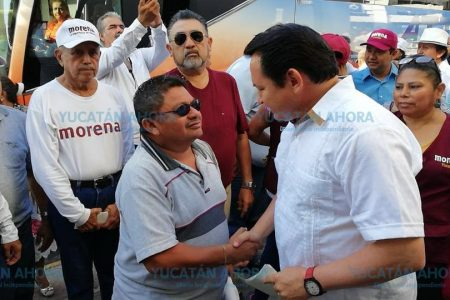 Yucatán no puede quedar fuera de la transformación: Huacho Díaz