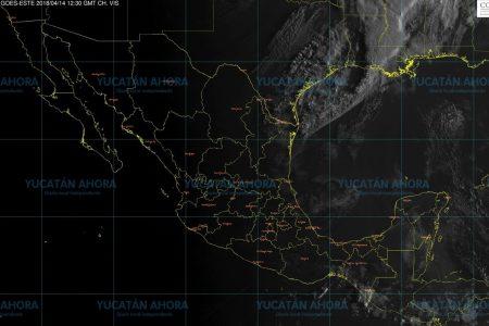Pronostican lluvias fuertes para la tarde de este sábado en Yucatán