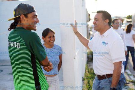 Renán Barrera propone seguro contra robo para casas al corriente con el predial
