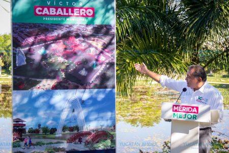 Víctor Caballero: Habrá un nuevo concepto de parques en Mérida