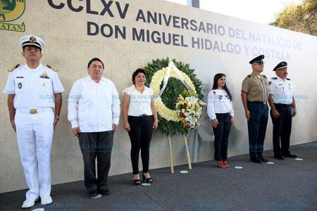 Se siguen 'cosechando frutos de la semilla que Miguel Hidalgo sembró'