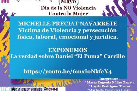 """Exhiben a """"El Puma"""" Carrillo en un vídeo para contrarrestar su réplica"""