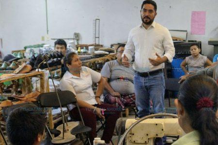 Luis Borja impulsará leyes para que los zapateros de Ticul produzcan más