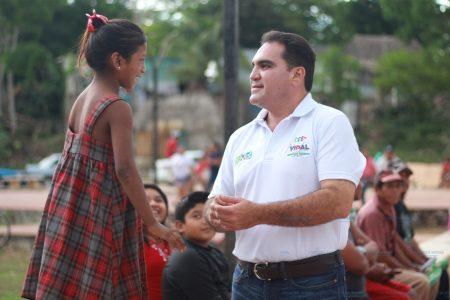 Jesús Vidal quiere que los niños y niñas de Yucatán sueñen sin límites