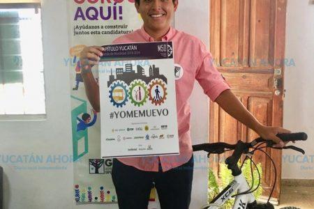 Adrián Gorocica acopla su propuesta a la de la iniciativa #YoMeMuevo