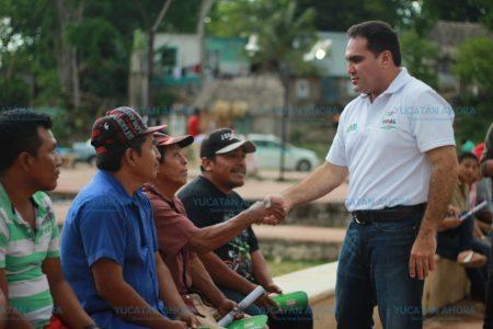 Jesús Vidal gestionará que las comunidades del Oriente cuenten con servicios básicos