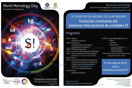 El Cicy celebrará el día nacional de la metrología