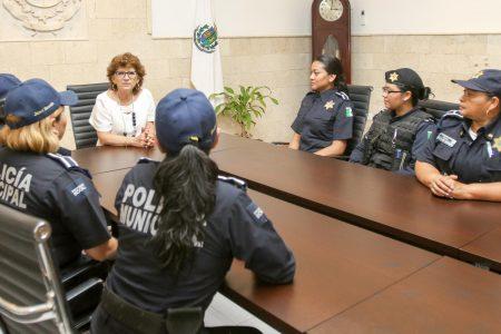 Destacan trabajo de la mujer en la Policía de Mérida