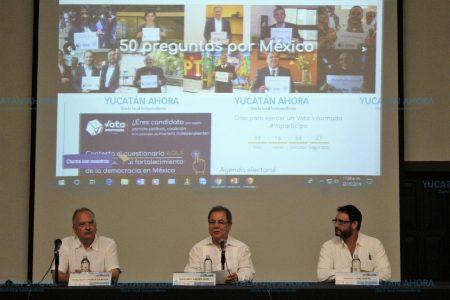 Avanzan preparativos para el debate presidencial en Mérida