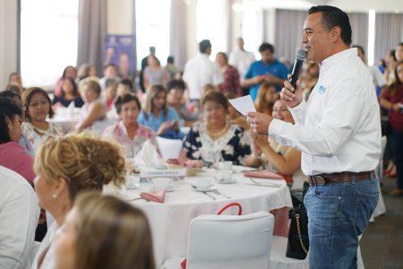 Renán Barrera promoverá cooperativas de mujeres para fomentar su inclusión laboral