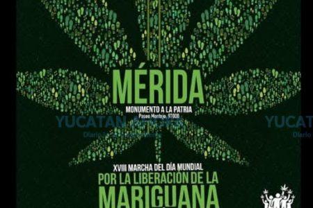 Convocan a la marcha por el Día Mundial por la Liberación de la Mariguana