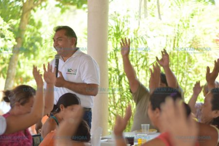 Con innovadores métodos y conceptos desea Víctor Caballero gobernar Mérida