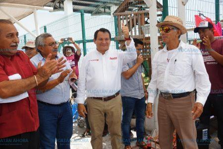 Promesa de Huacho Díaz para los hombres de mar: crear la Secretaría de Pesca