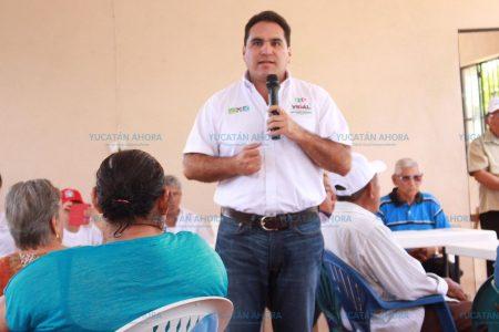 Jesús Vidal hace compromiso con los jubilados y pensionados de Valladolid