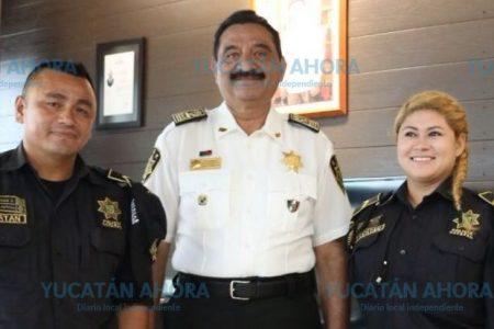Policías ejemplo de vocación, servicio y honestidad