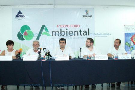 Anuncian la cuarta edición de la Expo Foro Ambiental