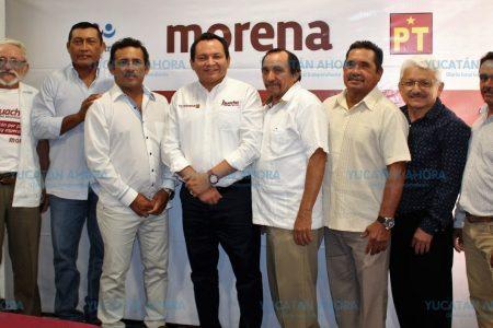 Ex alcaldes del grupo 'Rebelión de la Esperanza' se suman con Huacho Díaz