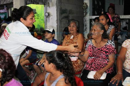 Mary Carmen Ordaz busca fortaleza de su campaña en las progreseñas