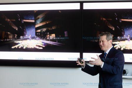 Yucatán busca en Estados Unidos facilitar su intercambio masivo de tráfico de Internet