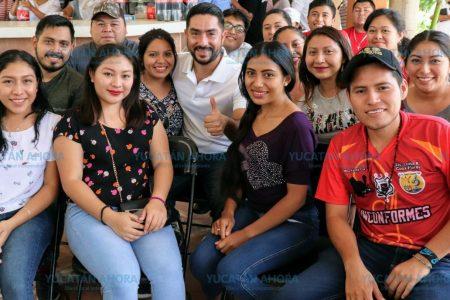 El primer empleo, tema que llevará Luis Borjas al Congreso