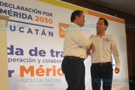 Agenda de colaboración y cooperación entre Vila y Renán