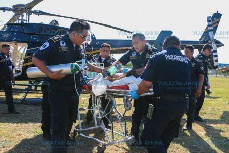 Sigue grave y en terapia intensiva la niña atropellada en Tizimín