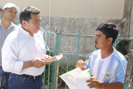 Interesado Crescencio Gutiérrez en impulsar obras y organizaciones mejorar el deporte en Yucatán